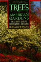 The cover of 'Trees for American Gardens'