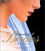 cover of Legendary Brides by Letitia Baldrige