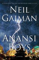 the cover of Anansi Boys