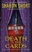 the cover of Death in the Cards by Sharon Short