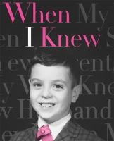 the cover of When I Knew