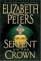 the cover of The Serpent on the Crown by Elizabeth Peters