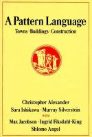 The cover of 'A  			Pattern Language'