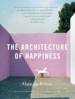 The cover of 'The Architecture of Happiness'