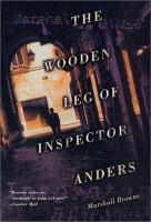 the cover of The Wooden Leg of Inspector Anders by Marshall Browne