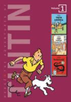 the cover of The Adventures of Tintin