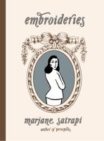 the cover of Embroideries by Marjane Satrapi