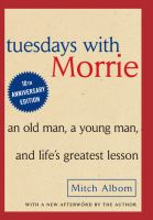 cover of Tuesdays with Morrie by Mitch Album