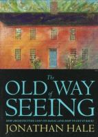 The cover of 'The Old Way of Seeing'