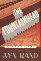 The cover of 'The Fountainhead'