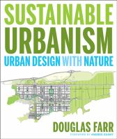 The cover of 'Sustainable Urbanism'