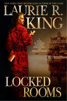 the cover of Locked Rooms by Laurie R. King