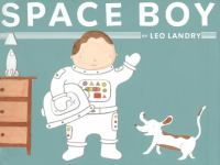 The cover of 'Space Boy' by Leo Landry