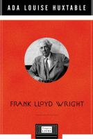 The cover of 'Frank Lloyd Wright'