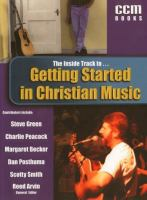 Cover of Getting Started in Christian Music