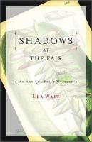 the cover of Shadows at the Fair by Lea Wait