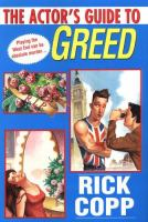 the cover of An Actor's Guide to Greed