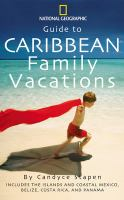 the cover of Caribbean Family Vacations