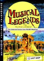 the cover of Musical Legends: The Collected Comics from Pulse Magazine by Justin Green