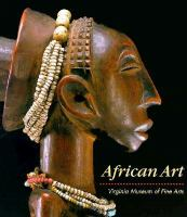 cover of African Art: Virginia Museum of Fine Arts by Richard B. Woodward