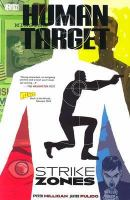 the cover of Human Target by Peter Milligan