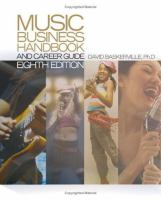 Cover of Music Business Handbook and Career Guide