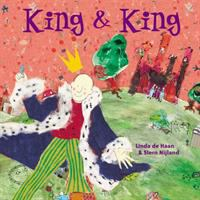 the cover of King & King