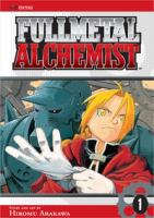 the cover of Full Metal Alchemist, Volume 4