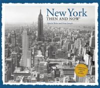 The cover of 'New York then and now'