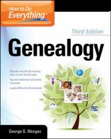 How to Do Everything. Genealogy