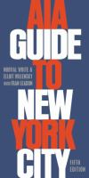 The cover of 'AIA Guide to New York City'