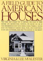 The cover of 'A Field Guide to American Houses'