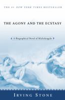 The cover of 'The Agony and the Ecstasy'