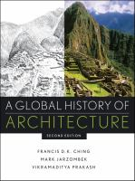 The cover of 'A Global History of Architecture'