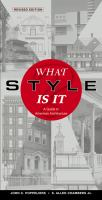 The cover of 'What Style is it?'