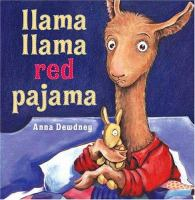 The cover of 'Llama Llama Red Pajama'