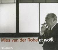 The cover of  			'Mies van Der Rohe at Work'