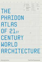 The cover of 'Phaidon Atlas of 21st Century World Architecture'