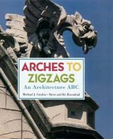 The cover of 'Arches to Zigzags'