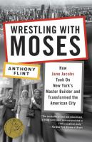 The cover of 'Wrestling with Moses'