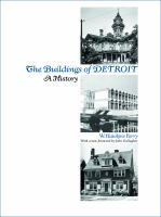 The cover of 'The Buildings of Detroit'