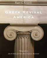The cover of 'Greek Revival America'