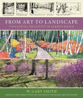 The cover of 'From Art to Landscape'
