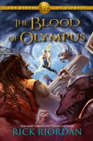 The cover of 'Blood of Olympus'
