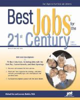 Best Jobs for the 21st Century book cover