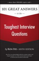 101 great answers to the toughest interview questions book cover