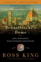 The cover of 'Brunelleschi's Dome'